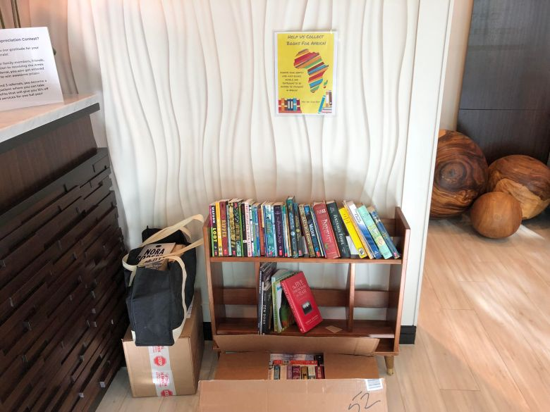 Books for africa status pic