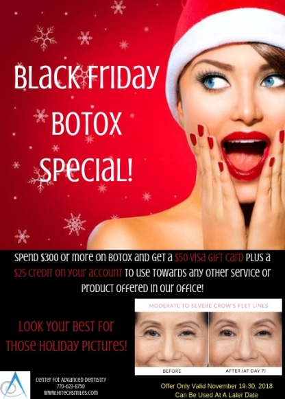 Black Friday Botox Credit