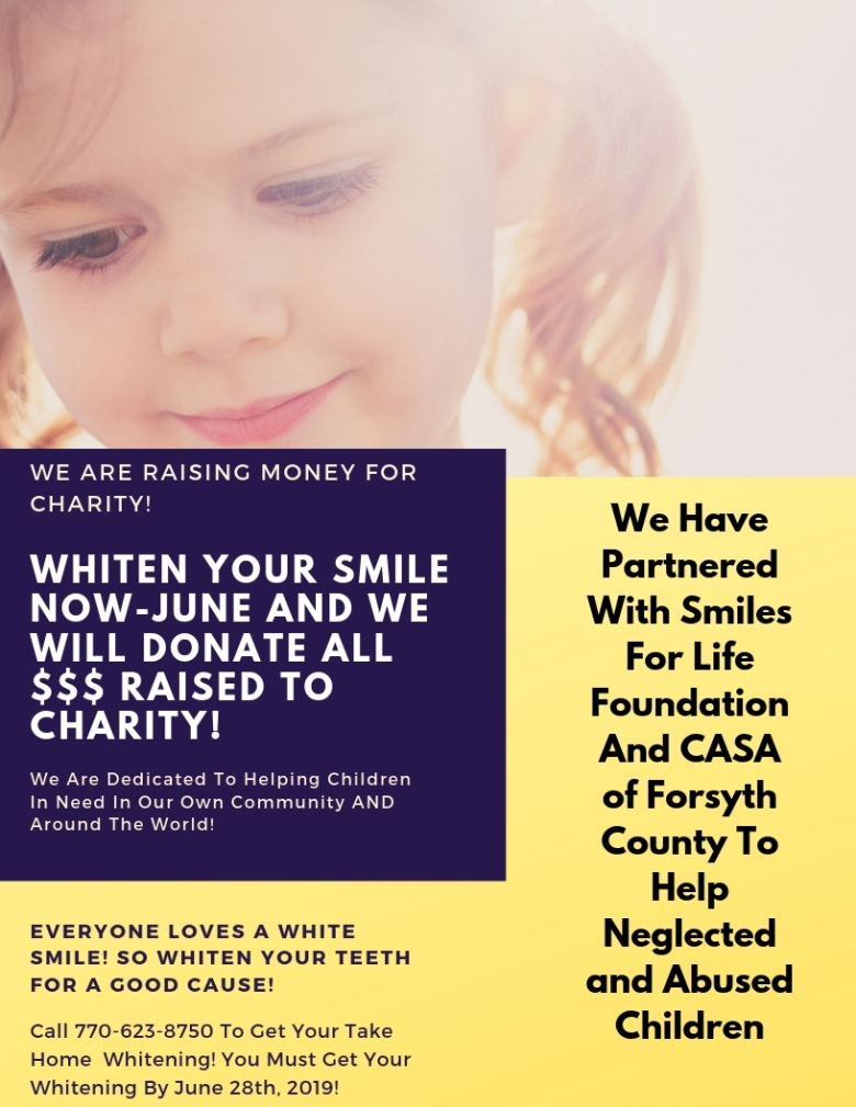 We Are Whitening Smiles For Charity!