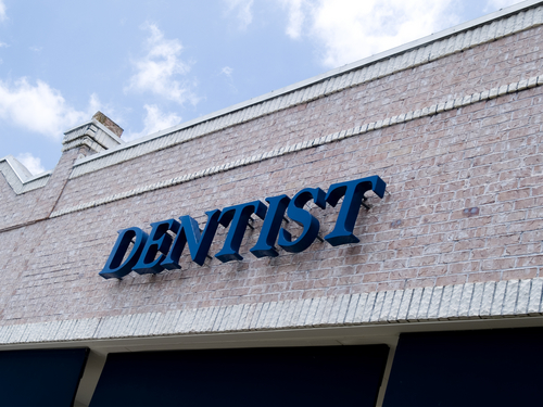 dentist front store